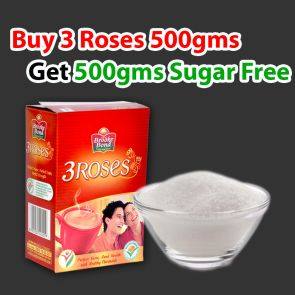 Buy 3 Roses and Get Sugar FREE