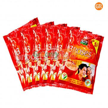 Brooke Bond Tea - 3 Roses Rs. 5 Sachet (Pack of 6)
