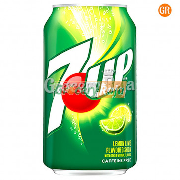 7 Up Soft Drink Can 250 ml
