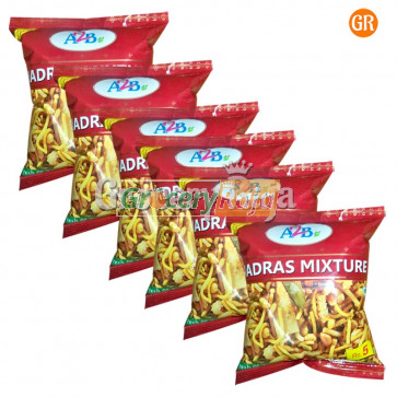 A2B Madras Mixture Rs. 5 (Pack of 6)