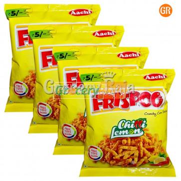 Aachi Frispoo Crunchy Corn Sticks - Chilly Lemon  Rs. 5 (Pack of 4)