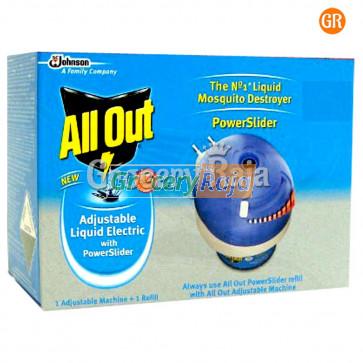 All Out Adjustable Liquid Electric With Power Slider 1 pc