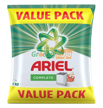 Ariel Complete Detergent Powder 4 Kg (Value Pack) - Upon Availability