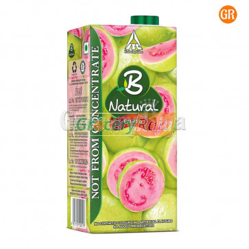 B Natural Guava Gush 1 Ltr