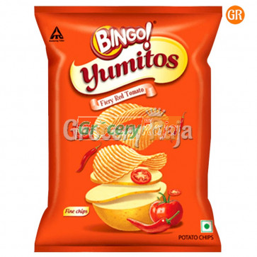 Bingo Yumitos Fiery Red Tomato - Potato Chips Rs. 5