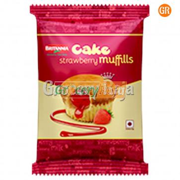 Britannia Cake Strawbery Muffills Rs. 10