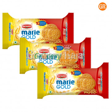 Britannia Marie Gold Biscuits Rs. 5 (Pack of 3)