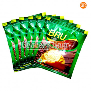 Bru Instant Coffee Rs. 10 Sachet (Pack of 6)