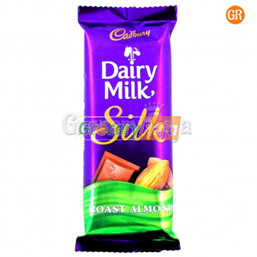 Cadbury Dairy Milk Silk Roast Almond Chocolate 137 gms
