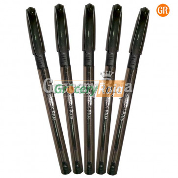 Cello Tri Plus Ball Point Pen - Black Rs. 6 (Pack of 5)