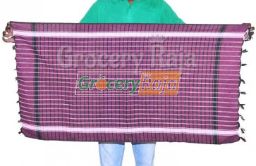 "Soft Nool Towels with Big Checks & Chungam 50""X25"""