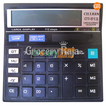 Citizen CT500 Calculator 1 pc [8 CARDS]