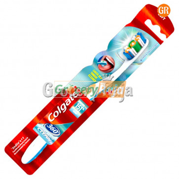 Colgate 360 Whole Mouth Clean Toothbrush - Soft 1 pc