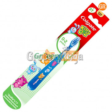 Colgate Kids 0-2 Baby Toothbrush - Extra Soft 1 pc