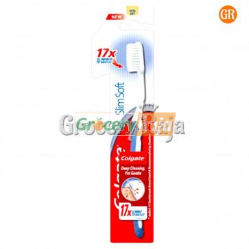Colgate Slim Soft 17X Slimmer Toothbrush - Extra Soft 1 pc