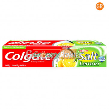 Colgate Toothpaste - Active Salt Healthy White (with Lemon) 100 gms