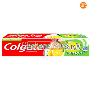 Colgate Toothpaste - Active Salt Healthy White (with Lemon) 200 gms