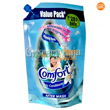 Comfort Fabric Conditioner Morning Fresh Blue Refill Pack 200 ml