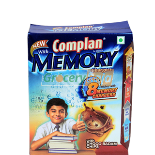 Complan Memory Chargers - Choco Badam Chips 400 gms Carton