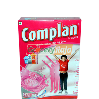Complan Strawberry Flavour 500 gms