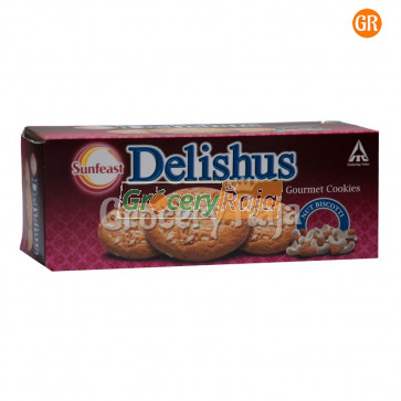 Sunfeast Delishus Gourmet Cookies - Nut Biscotti Rs. 60