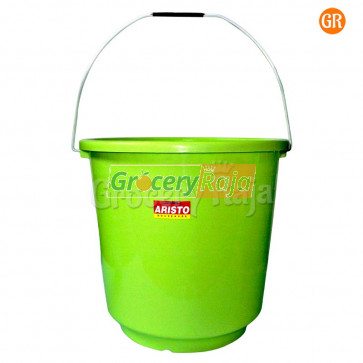 Aristo Deluxe Bucket 17 Ltr [14 CARDS] - Color May Vary