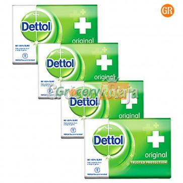 Dettol Original Soap 75 gms (Pack of 4)