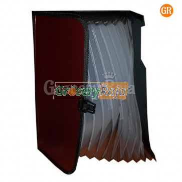 Expanding Folder File A4 Document Organizer with Handle