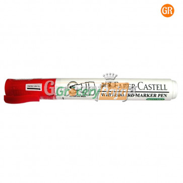 Faber Castell White Board Marker - Red