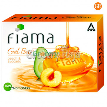 Fiama Di Wills Gel Bar Mild Dew Peach & Avocado 125 gms