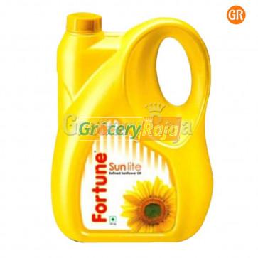 Fortune Sun Lite Sunflower Refined Oil 5 Ltr Can