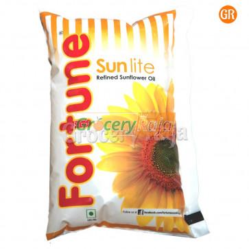 Fortune Sunlite Refined Sunflower Oil 1 Ltr