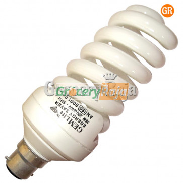 Gem Lite 25W CFL Bulb 1 pc [16 CARDS]