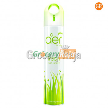 Godrej Aer Fresh Lush Green Air Freshener Spray  300 ml