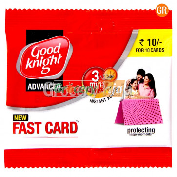 Good Knight Advance Fast Card 3 min Instant Action 10 Cards