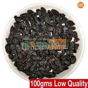 GR Dry Grapes-Raisins (Black) 2nd Grade (திராட்சை) 100 gms