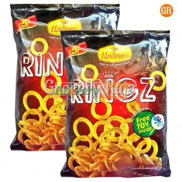 Haldirams Ringz Chips Rs. 5 (Pack of 2)