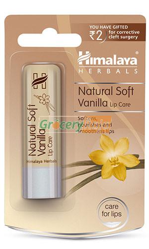 Himalaya Natural Soft Vanilla Lip Care Lip Balm 4.5 gms