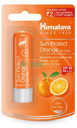 Himalaya Sun Protect Orange Lip Care Lip Balm 4.5 gms