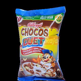 Kelloggs Chocos Duet Chocolaty + Vanilla Flavour Rs. 10
