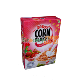 Kelloggs Real Strawberry Puree Corn Flakes 275 gms