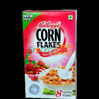 Kelloggs Real Strawberry Puree Corn Flakes 575 gms