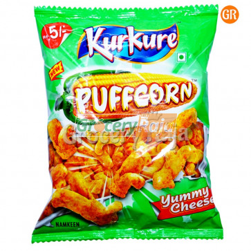 Kurkure Puffcorn Yummy Cheese Rs. 5 Pack