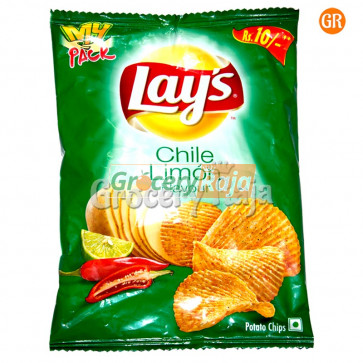 Lays Chile Limon Flavour Potato Chips Rs. 10