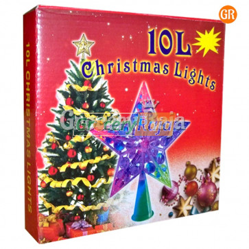 LED Multicolor Crystal Star Light with Stand
