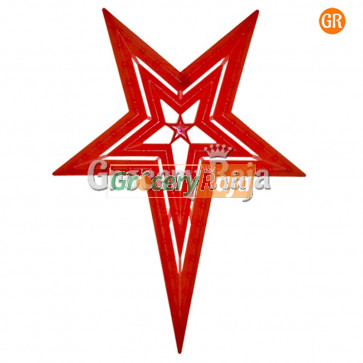 LED Multicolor Decoration Light Red Star