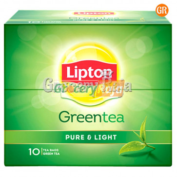 Lipton Green Tea Pure & Light 10 Bags