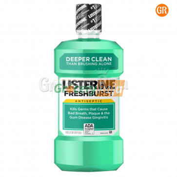 Listerine Fresh Burst Mouthwash 80 ml