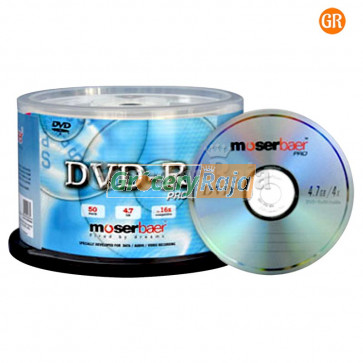 Moser Baer DVD (Pack of 100) [125 CARDS]