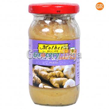 Mothers Ginger & Garlic Paste Bottle 300 gms